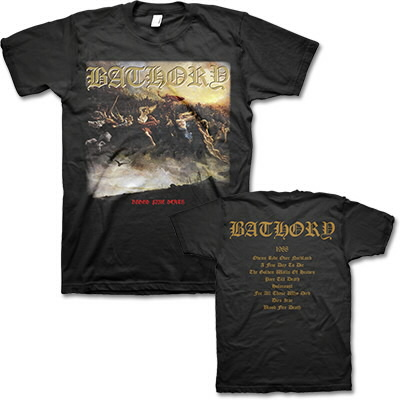 valhalla - Blood Fire Death T-Shirt (Black)
