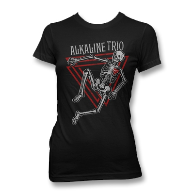 alkaline-trio - Skeleton Tee - Women's