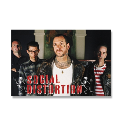 "social-distortion - 24"" x 36"" Band Poster"