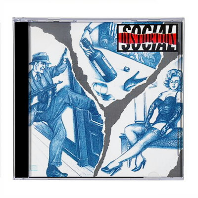 social-distortion - S/T CD