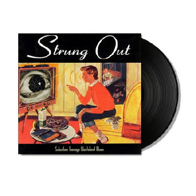 strung-out - Suburban Teenage Wasteland Blues LP (Black)