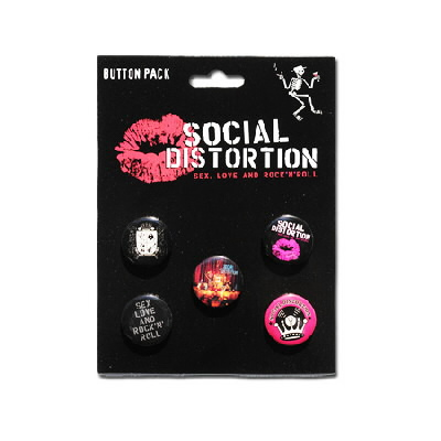 social-distortion - Sex, Love, & Rock 'N' Roll Button Pack