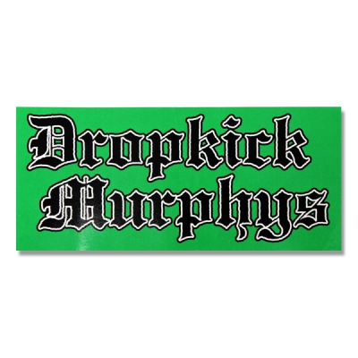 dropkick-murphys - Old English Sticker