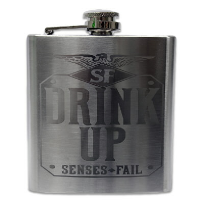senses-fail - Drink Up Flask