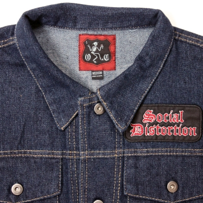 social-distortion - SD Denim Vest