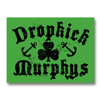 dropkick-murphys - Shamrock And Anchors Sticker