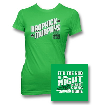 Dropkick Murphys - DKM End of the Night Womens Tee