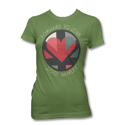 ziggy-marley - Forward To love - Women's Tee