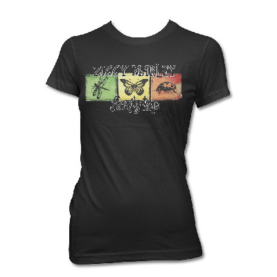 ziggy-marley - Family Time Squares Tee - Women's